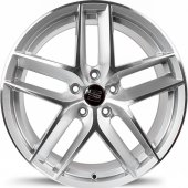 Emr Dy438 03 8.0x18 5x112 Et42 57.1 Silver Machined Jant 4 Adet