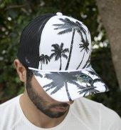 Deepsea Palmiye Ağaç Baskılı Şapka 1908834