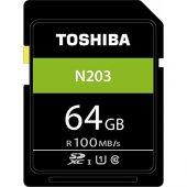 Toshiba 64gb N203 Sdxc Uhs I Class 10 Hafıza Kartı...