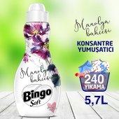 Bingo Soft Konsantre Çamaşır Yumuşatıcısı Manolya 1440 Ml Ekonomi Paketi 4lü