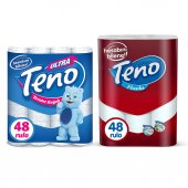 Teno Tuvalet Kağıdıjumbo Paket 48 Rulo & Teno Kağıt Havlu Jumbo Paket 48 Rulo