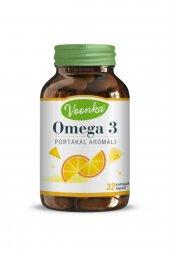 Voonka Omega 3 Portakal Aromalı 1000mg 32 Kapsül