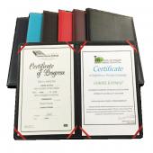 2k Diploma Kabı Suni Deri 23x32 Siyah 888 1