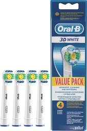 Oral B 3d White Value Pack Avantaj Paketi Fırça Başlığı 4 Adet