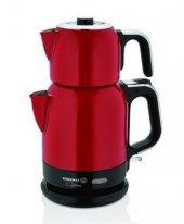Korkmaz Çaytema A331 05 Kırmızı Renk Elektrikli Çay Makinesi
