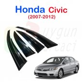 Honda Civic (2007 2012) Cam Yağmurluğu