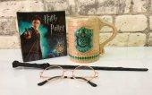 Harry Potter Bina Kupası Asa Ve Gözlük Set