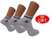 Gülçek Erkek Patik Çorap Spor Çorap 12 Çift