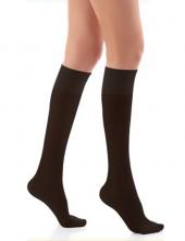 Luxor Dizaltı Burnu Kapalı Sıyah Hostes Çorabı
