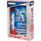 Gillette Blue2 Milli Takım Özel Paketi 4lü Tıraş Bıçağı + 200 Ml