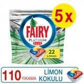Fairy Platinum Plus Bulaşık Makinesi Deterjanı Kapsülü 110 Yıkama