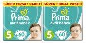 Prima Bebek Bezi Süper Fırsat 5 Beden 11 16 Kg 2li 120 Adet