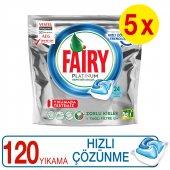 Fairy Platinum Bulaşık Deterjanı Kapsülü Hızlı Çöz...