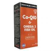 Zade Vital Co Q10 Omega 3 Balık Yağı Blister 30 Kapsül