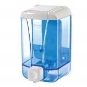 Palex 3420 1 Sıvı Sabun Dispenseri 500 Cc Şeffaf Mavi