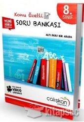 8. Sınıf Tüm Dersler Konu Özetli Soru Bankası Çalışkan Yayınları