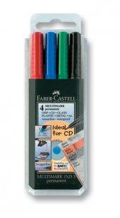 Faber Castell Permanent Kalem 4 Renk (S)