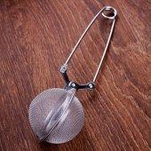 Paslanmaz Çelik Bitki Çay Demleme Süzgeci