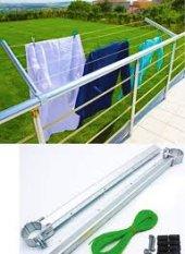 Balkon Çamaşır Kurutma Askısı İp Hediye