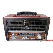 Meier M 111bt Şarjlı Nostaljik Usb Sd Mp3 Bluetooth Fm Radyo K.a