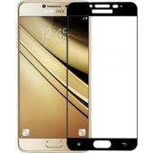 Samsung Galaxy C8 Tamperli Tam Kaplayan Kırılmaz C...