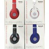 P15 Fm Radyolu Mikrofonlu Katlanabilir Bluetooth Kulaklık Mp3