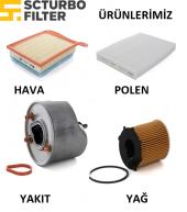 Tüm Marka Model Dizel Araçların Filtre Bakım Seti (Yağ,polen,hava,mazot) (Alofiltre)
