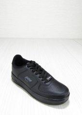 Wickers Siyah Cilt Bağcıklı Erkek Spor Ayakkabı