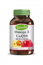 Voonka Omega 3 Ve Koenzim Q10 İçeren Takviye Edici Gıda 32 Kapsül