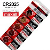 Maxell 2025 Lithium Batery 5 Li Paket
