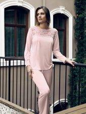 2 Li Penye Pijama Takımı 2018
