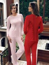 2 Li Penye Pijama Takımı 2028