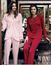 3 Lü Penye Pijama Takımı 3010