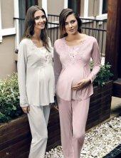 Penye Lohusa Pijama Takımı 2110