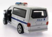 çek Bırak Kırılmaz Metal Polis Arabası 6632 19m