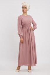 Loreen Kadın Gül Elbise 22115