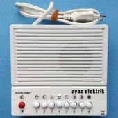 8 Li Diafon Konuşma Merkezi, Çaycı Odacı Kapıcı Di...