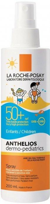 La Roche Posay Anthelios Dermo Kids Spf 50+ Sprey 200 Ml Çocuklar İçin Güneş Koruyucu Sprey