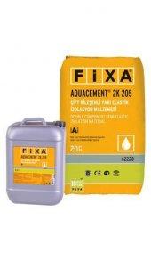 çift Bileşenli Yarı Elastik Su Yalıtım Malzemesi (20 Kg + 5,4 Kg)+fixa Aquacement 2k 205