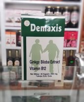 Demaxis Ginkgo Biloba Extract Vitamin B12