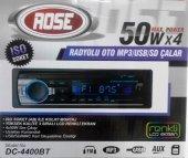 Rose Dc 4400bt Bluetooth Usb Sd Kart Mp3 Radyo 4x50w Oto Teyp