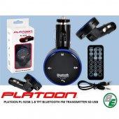 Platoon Pl 9238 1.8 Tft Bluetooth Fm Transmıtter Sd Usb