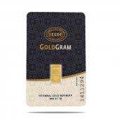 1 Gr 999.9 Milyem Saf Gram Külçe Altın