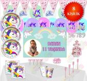 Unicorn Ünicorn Doğum Günü Parti Malzemeleri Süsle...
