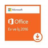 Microsoft Office Ev Ve İş 2016 (Elektronik Lisans)