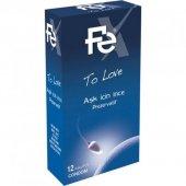 Fe To Love Aşk İçin İnce Prezervatif 12li, Skt 2021 12