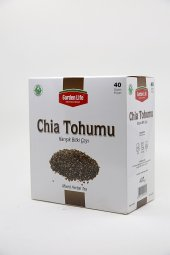 Garden Life Chia Tohumu Karışık Bitki Çayı 40 Paket
