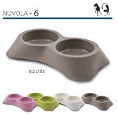 Mp Bergamo İkili Kedi Köpek Mama Su Kabı 2 X 0,2 L...