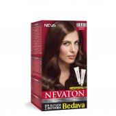 Nevaton Saç Boyası 5.0 Açık Kahve Bir Kutuda 2 Boyama
