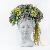 Helen Dekoratif Saksılı Çiçek